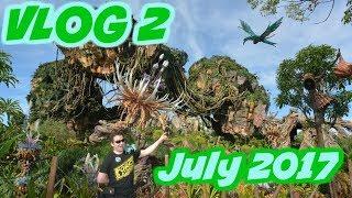 45 min. For Flight of Passage?!?! | Walt Disney World VLOG Day 2 July 2017