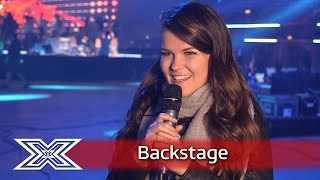 The X Factor Backstage with TalkTalk  Saara recounts her X Factor journey!