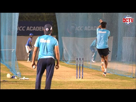Delhi Capitals Spinners in the Nets | Ravichandran Ashwin | Amit Mishra | Lalit Yadav