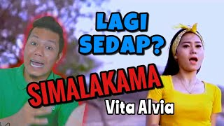🔴 PALING SEDAP?? SIMALAKAMA Vita Alvia Reaction Versi Malaysia 2019