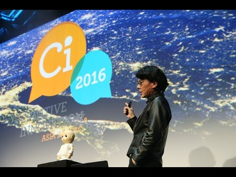 "Prof Hiroshi Ishiguro (Japan) at Ci2016 - ""Interactive robots and the future of society"""