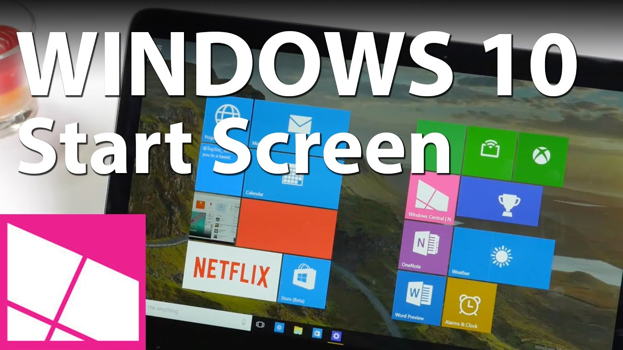 How To Enable Full Screen Start Menu In Windows 10 Insider Desktop