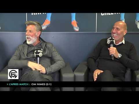 OM - Nimes (2-1) : Le debrief complètement FOU avec Laurent PAGANELLI, BAUP et DE BONO