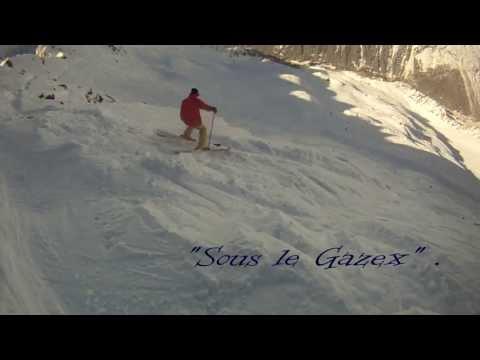 Ski Hors-Piste Chamonix 2013 - Les Grands Montets