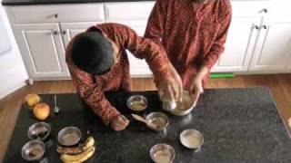 How To Make Panchamrutham | Recipe Tutorial in Sanskrit