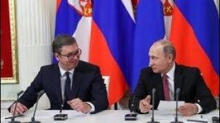 Пресс-конференция по итогам российско-сербских переговоров. Полное видео