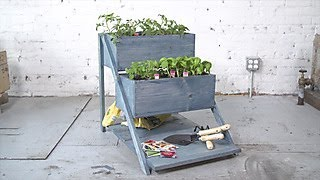 How to Make a Tiered Planter Box - DIY Network
