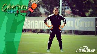 Alejandra Gutiérrez, Guardameta de la selección Mexicana   Cobertura Uno a Uno