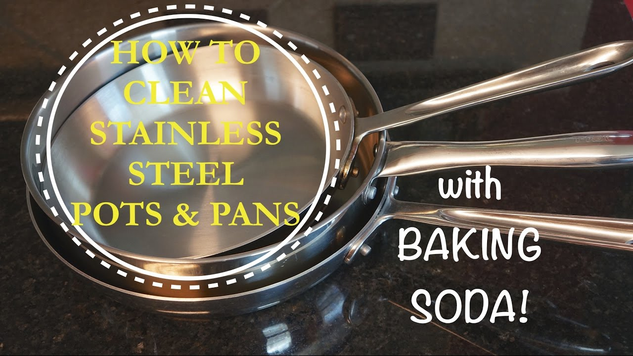 How To Clean Pots And Pans With Baking Soda