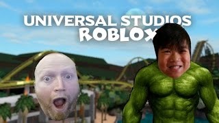 O Hulk retorna | Roblox Universal Studios
