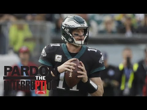 Are the Eagles and Carson Wentz running a college offense? | Pardon The Interruption | ESPN