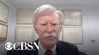 Bolton says Russia controversy highlights Trump's lack of interest in intelligence