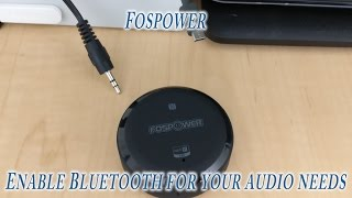 @Fospower Bluetooth Audio Receiver Review for $9 (Make music wireless)