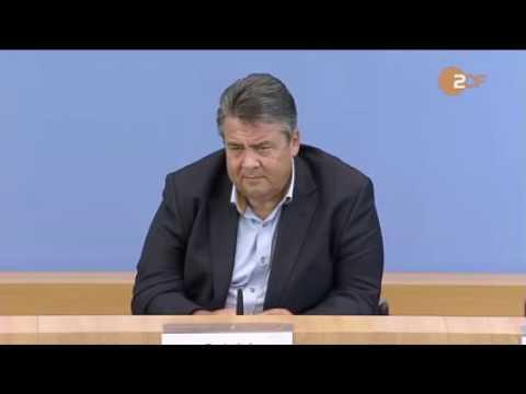 """Sigmar Gabriel gibt Auskunft """"Keine Ahnung"""""""