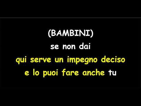 Povia E Il Coro Dell'Antoniano  - Non Basta Un Sorriso (no Coro) (karaoke)