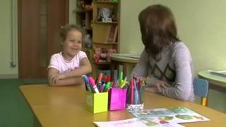 Даша (5 лет) на уроке английского языка