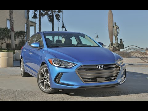 2017 Hyundai Elantra Review First Drive Youtube