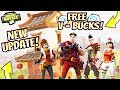 *NEW SEASON 3!* | FREE V - BUCKS! | GIVEAWAY'S EVERY 10 SUB'S! | Fortnite: Battle Royale LIVE 🔴