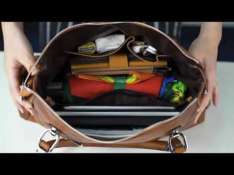 D10V036 미국 S-ZONE 여성 빈티지 정품 가죽 핸드백 숄더백 토트백 크로스백