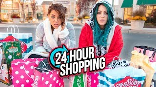 Download 24 HOUR Shopping Challenge! Niki and Gabi Mp3 and Videos
