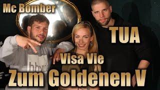 TUA bei ZUM GOLDENEN V | Abstinenz, Transhumanismus, Beats & MC Bomber | Trailer