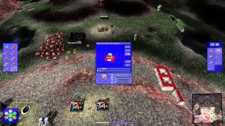Warzone 2100 6 player FFA - Battle of the Tanks