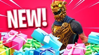 The New GIFT FEATURE in Fortnite..