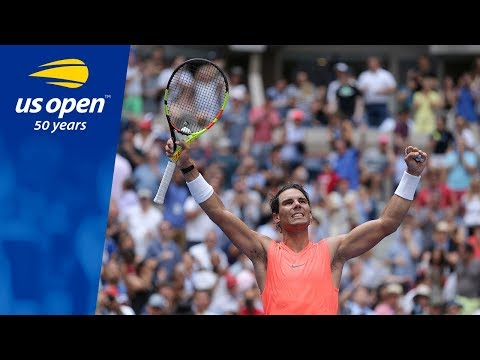Three-time US Open Champion Rafael Nadal in Top Form