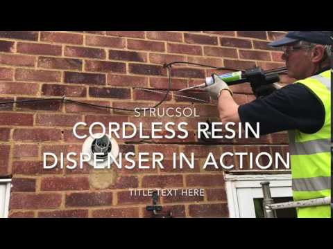 Strucsol Auto Resin applicator in action