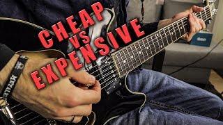 Cheap Vs Expensive Guitar!