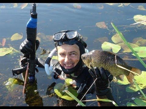 Уроки подводной охоты день 2 / Подводная охота Александр Кочубей