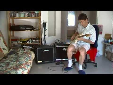 peavey bandit 112 with marshall 1912 cabinet youtube. Black Bedroom Furniture Sets. Home Design Ideas