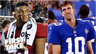 Talk of the Giants tanking for Tua Tagovailoa is growing - Louis Riddick | First Take