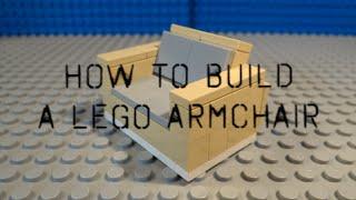 Tutorial - Lego Armchair / Recliner