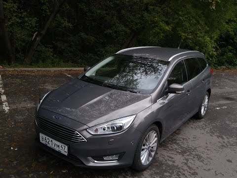 Ford Focus Estate - 2016 \ Тест-драйв нового Форд Фокус Универсал