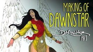 Making of DAWNSTAR | Daniel HDR Art