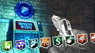 13 PERKS IN KINO DER TOTEN, MOON & FIVE! (New Perks Mod) Call of Duty Black Ops Zombies Gameplay