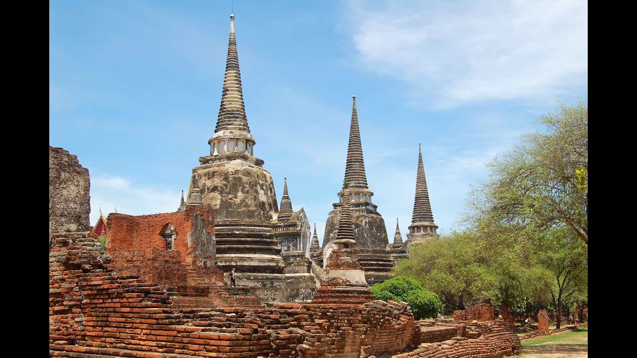Ayutthaya Discovered: Wat Phra Sri Sanphet & The Grand Palace - YouTube