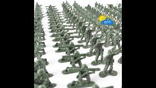 Домашние сражения игрушек ↑ Военные солдатики, нёрфы ↑ Обзор игрушек