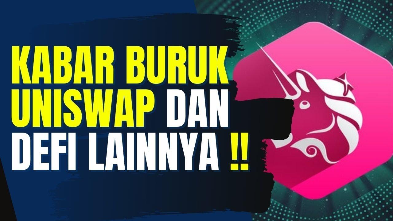 KABAR BURUK UNISWAP, PANCAKESWAP, SERUM, DLL   SEC SERANG DEFI !!