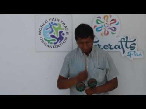 Intercrafts - Musical Instrument - PERUVIAN TOCTO - FAIR TRADE