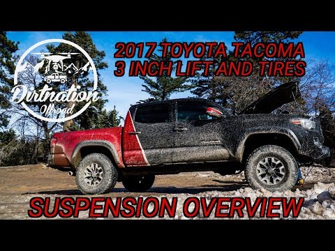 2017 Toyota Tacoma Trd Off-road 3 Inch Lift On 33 Inch Tires, Suspension Breakdown