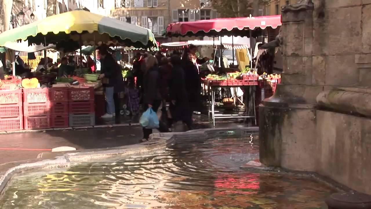 Aix en provence food markets youtube for Aix en provence cuisine
