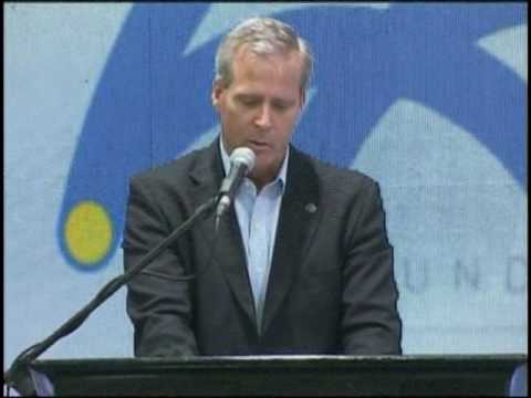 Presidente de Ron Santa Teresa durante su participación en Expo Venezuela Potencia