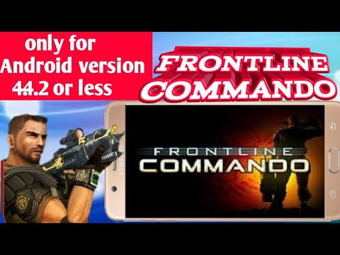 Frontline Commando Unlimited Glu Coins (4.4.2 Or Less)