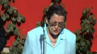Homenaje a las 13 Rosas: José Cepeda y Mº Ángeles García Madrid