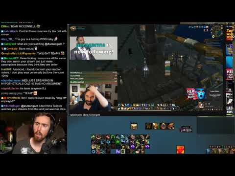 Asmongold Reacts To Taliesin Ranting About Asmongold