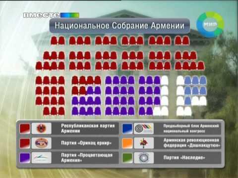 Новый парламент Армении. Эфир 3.06.2012