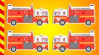Пожарная машина все серии 15 МИН. Пожарный Сэм тушит большой пожар Мультик про пожарников на задании