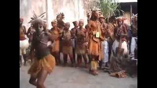 BIBOC - traditional folk musical  assembly of Democratic Republic of Congo